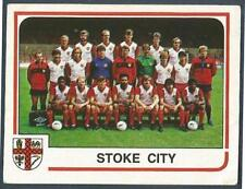 PANINI FOOTBALL 84-#265-STOKE CITY TEAM PHOTO