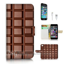 iPhone 7 PLUS (5.5') Flip Wallet Case Cover P2332 Chocolate