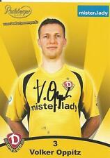 Volker Oppitz - Dynamo Dresden - Saison 2007/2008 - Autogrammkarte
