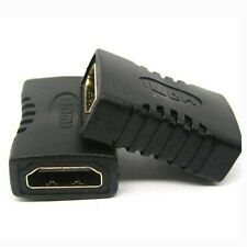 New HDMI Female to Female Coupler Extender Adapter Connector for HDTV HDCP - UK