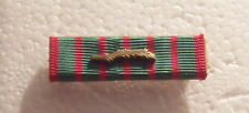 WW I French Croix de Guerre Medal RIBBON BAR with Palm