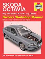 Skoda Octavia Repair Manual Haynes Workshop Service Manual  2004-2011  5549