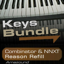 40 PIANOS + 64 RHODES & ELECTRIC PIANOS + 64 HAMMONDS REASON REFILL BUNDLE