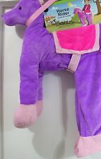 Purple Horse Rider Toddler Halloween Costume SIZE 3T/4T NEW with packaging