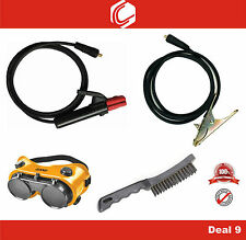 Deal 9 - Welding Holder, Earth Cable for Arc welding with Accessories