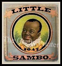 MAGNET - BLACK AMERICANA Soap Label - Little Sambo Soap