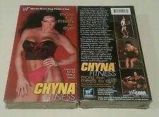 WWF WWE TNA Chyna vhs fitness video movie china diva more than meets the eye MIP