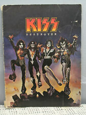 KISS DESTROYER vintage 1976 Almo music song book guitar chords keyboard  photos