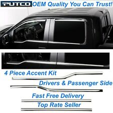 Putco 97504 OEM Match Grade Window Trim Kit for 2011 Ford F-150 Super Crew Cab