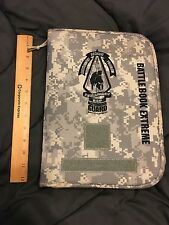 U.S. ARMY NATIONAL GUARD! BATTLE BOOK EXTREME NOTEBOOK DIGITAL CAMO ACU w/ book