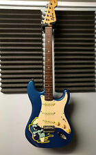 SQUIER BY FENDER STRATOCASTER STRAT BLUE ELECTRIC GUITAR RELIC
