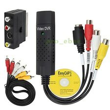 USB VHS To DVD Converter / Video Converter / Capture Complete Scart Kit + Cable