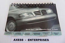 97 1997 Mercedes W202 C C230 C280 C36 AMG Owners Pocket Reference Guide # M199EE