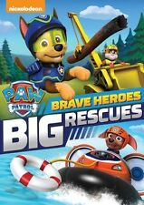 Paw Patrol: Brave Heroes Big Rescues 032429237842 (DVD Used Very Good)