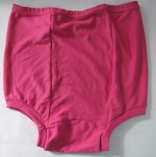 Vintage XXL School  Knickers Panties Briefs Gymphlex with back panel Pink