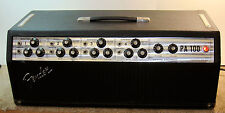 Fender PA100 Tube Amp Model CFA7310 Tested Works,  Estate Find