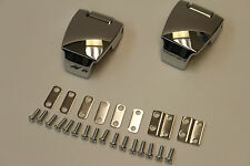 HARLEY PREMIUM CHROME TOUR-PAK HINGES 79211-08A RAZOR CHOPPED KING TOUR PACK H-D