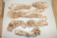 REAL vintage Lot of Lynx Fur Paws Various pieces Craft Design           Y-24
