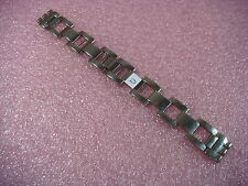 Stainless Steel Genuine Swatch Replacement Strap 17mm Watch Band Bracelet Q / BB