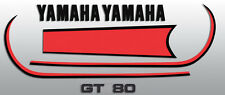 1979 GT80F GT80  YAMAHA FUEL TANK DECALS AND OIL TANK DECAL KIT