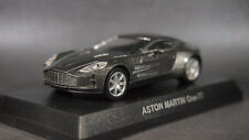 kyosho 1/64 ASTON MARTIN minicar collection One-77 Gray new