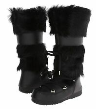 Authentic TECNICA Champagne 2 FUR MOON BOOT 36/5.5 BLACK