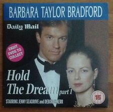 DVD - BARBARA TAYLOR BRADFORD - HOLD THE DREAM Part 1 only - NEWSPAPER PROMO