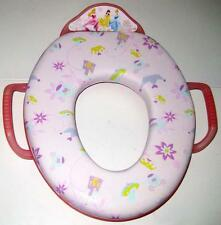 DISNEY PRINCESS PINK SOFT POTTY SEAT Toilet Training Ring with Handles