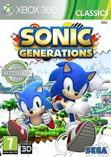 Sonic Generations - Classics Xbox 360 NEW DISPATCH TODAY ALL ORDERS BY 2PM