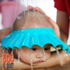 Gorro para baño bebes, evitar que entre agua en los ojos