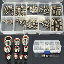 200x Hex Hexagonal Vis San Tête Fixation Visserie Screw Inox M3 M4 M5 M6 M8