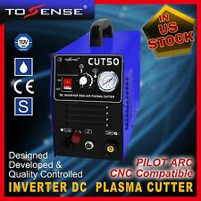 50A Plasma Cutter machine Pilot Arc 110/220V with extra 80pcs WSD60P consumables