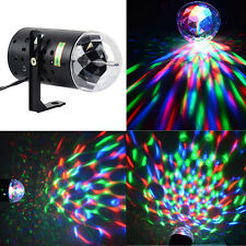RGB Stage Laser Lighting LED Effect Light Disco DJ Party Rotating Strobe Rave