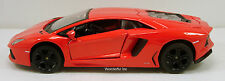 "Maisto Lamborghini Aventador LP 700-4 1:24 scale diecast 8"" model Orange  M55"