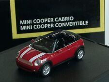 Herpa New Mini Cooper Cabrio, rot, Sondermodell 828 - 1/87