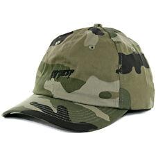 """10.DEEP """"Sound & Fury"""" Strapback Hat (Faded Woodland) Men's Camo Polo Dad Cap"""