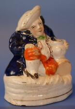 Staffordshire Pottery Toby Jug  Figure Pen Holder Antique