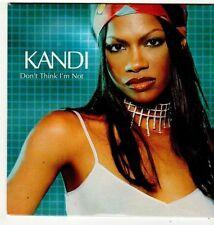 (FI916) Kandi, Don't Think I'm Not - 2000 DJ CD