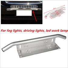Car Offroad LED Light /Fog Light Front Bumper License Plate Mount Bracket Holder