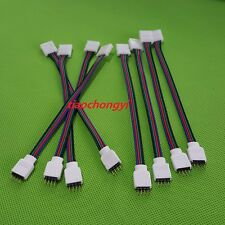 10 PCS 4PIN RGB Connector Wire Cable For 3528 5050 SMD LED Strip Male & Female