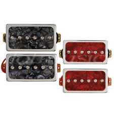 Single Coil Bridge Neck Pickups Set for LP Guitar Part Red Pearl and Black Pearl