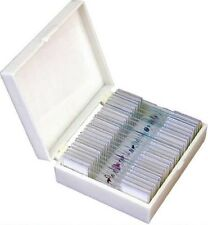 Zenith Prepared 25 Pieces Microscope Slides Set, London