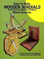 Easy-to-Make Wooden Sundials (Dover Woodworking) Stoneman, Milton Paperback