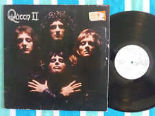 QUEEN II (2/Two) LP WHITE LABEL PROMO Elektra 1974 w/ Inner Sleeve