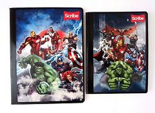 Marvel Avengers Boy's Graphic Composition Notebook With Notepad & Stickers NEW