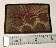 "Arizona Flag Patch KRYPTEK HIGHLANDER Background Hook and Loop Back 3"" X 2"""