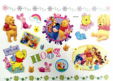 Hot Waterproof Colorful Removable Temporary Tattoo DIY Winnie the Pooh Sticker