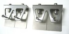 """1 pair RC boat Trim Tabs/Water Stabilizers 47mm X 58mm for 33""""-40"""" - Silver"""