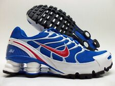 NIKE SHOX TURBO+ VI ID BLUE/RED-WHITE SIZE MEN'S 6.5/WOMEN 8 [326840-994]