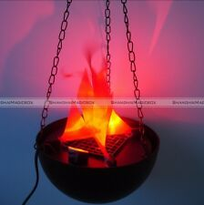 Flame Lamp with Artificial Fake Fire Light Party Halloween Decoration Realistic